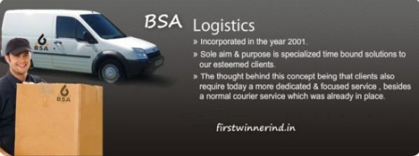 BSA Courier Tracking