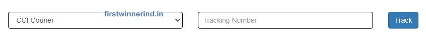 CCI Courier tracking